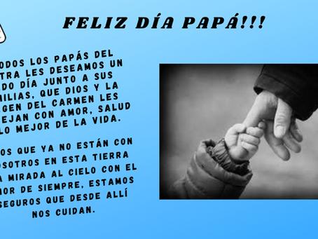 FELIZ DÍA PAPÁ !!