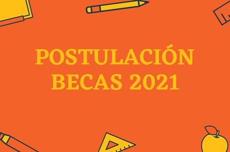 Postulación a becas 2021