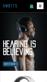 See All Templates website templates – Headphones