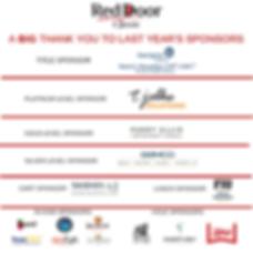Copy of Red Door 2018 Sponsors Thanks fo