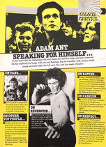 Adam Ant Interview