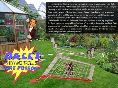 Dale's Shopping Trolley Cat Prison