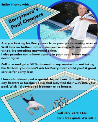 Barrymore's Pool Cleaners