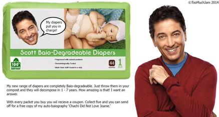 Baio-Degradeable Diapers