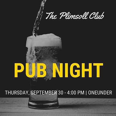 The Plimsoll Pub Night