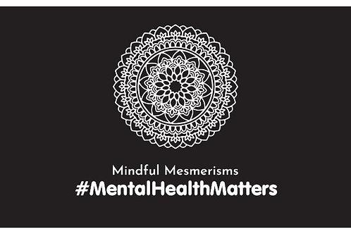 Mindful Mesmerisms Sticker (Horizontal)