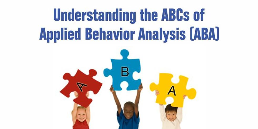 Applied Behaviour Analysis (ABA) Workshop