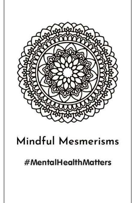 Mindful Mesmerisms Sticker (Vertical)