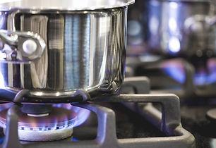 Pot on Gas Burner