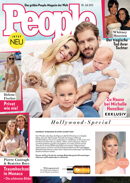 """IS Clinical in """"People Magazin"""""""
