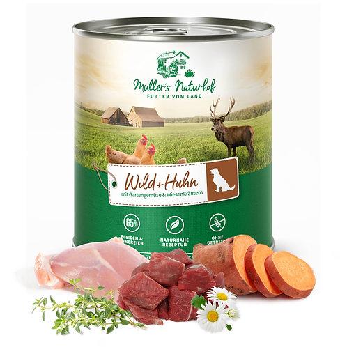 Müllers Naturhof - Wild und Huhn 800g