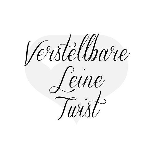 Design It yourself | Verstellbare Leine Twist