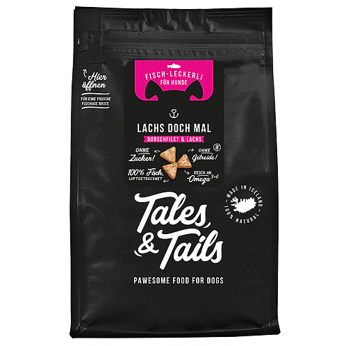 Tales&Tails - LACHS DOCH MAL