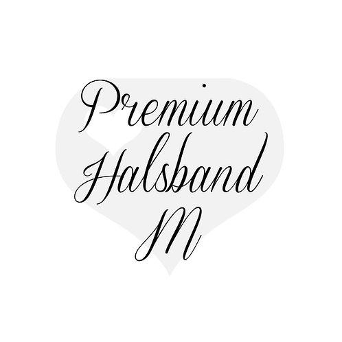 Design It yourself | Premium Halsband mit Scherenkarabiner M