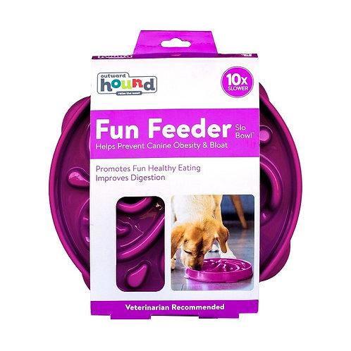 Outward Hound - Fun Feeder Purple LARGE
