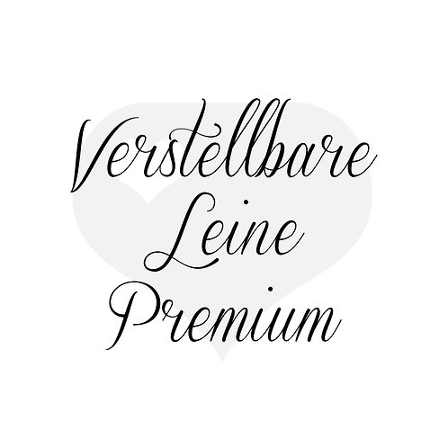 Design It yourself | Verstellbare Leine Premium