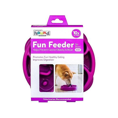 Outward Hound - Fun Feeder Purple MEDIUM