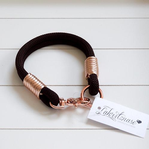 Jewels Halsband - mit Nappaleder 36cm HU