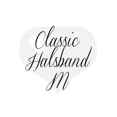 Design It yourself | Classic Halsband mit Scherenkarabiner M