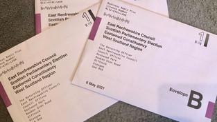 Return your Postal Votes