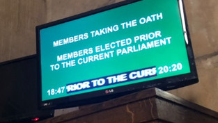 Sworn in for East Renfrewshire
