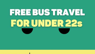 Free Bus Travel for Under 22s