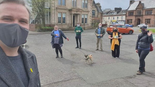 Campaigning in Renfrewshire South