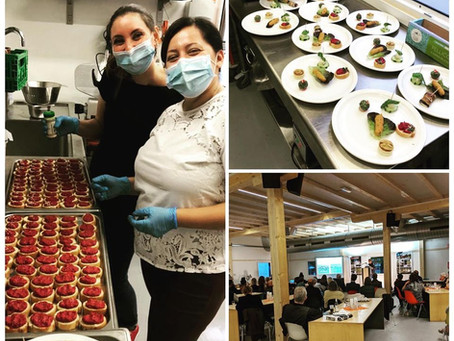 Alter Start Food traiteur de l'inauguration de La Baraka, Théâtre de Vidy-Lausanne