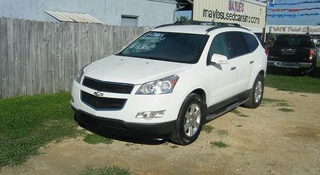 2011 Chevy Traverse awd white 001.JPG