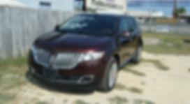 2012 Lincoln MKX brown 001.JPG