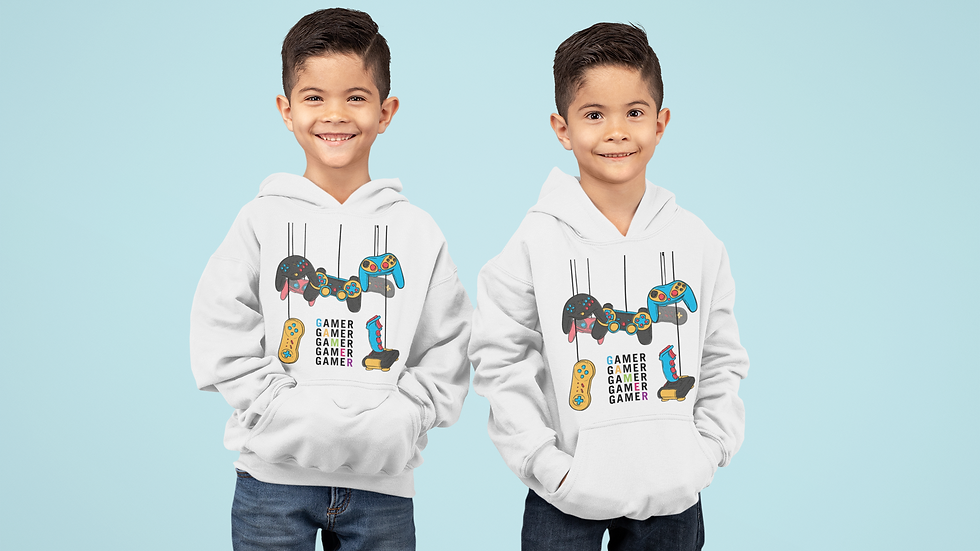 Swag unlimited kids gamer hoodie