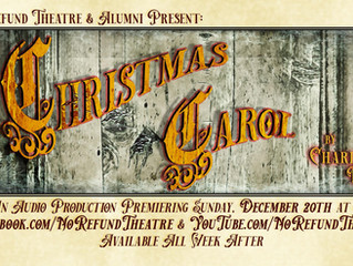 A CHRISTMAS CAROL by Charles Dickens: A Radio Play