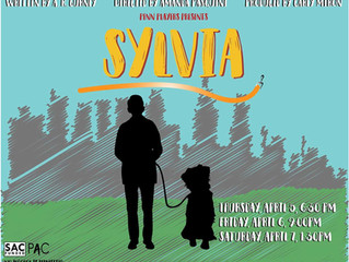 SYLVIA at UPenn opens tonight!