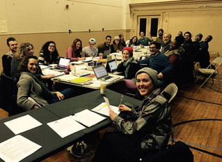 First Day of Rehearsal for PAC's 'TIS PITY SHE'S A WHORE