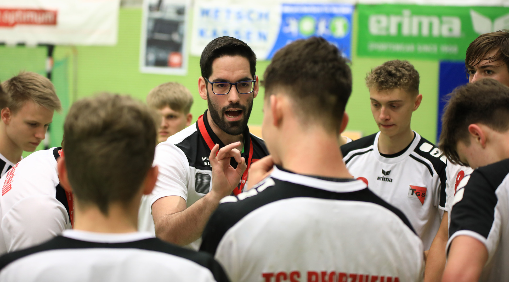 A-Jugend-Trainer Jonathan Binder