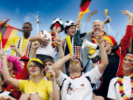 WM Public Viewing: Deutschland - Schweden
