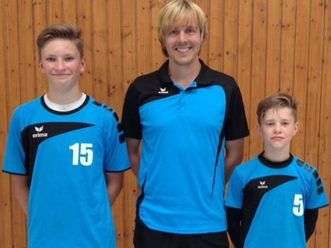 Niklas Blum und Elia Sandkühler in Team Baden gesichtet