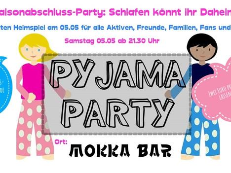 TGS Saisonabschluss-Party: Schlafen könnt ihr Daheim !!!