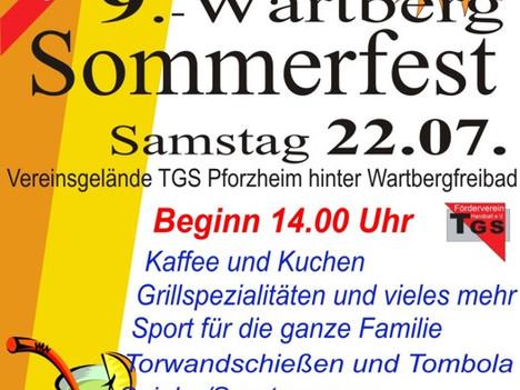 9.Wartberg Sommerfest am 22.07.2017 und Beachvolleyball-Fun-Turnier