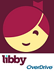 Icon for Libby app from Overdrive to highlight digital books