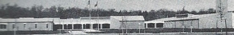 View of Tenafly Municipal Complex from Tenafly Rd. circa 1963