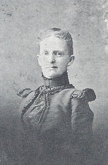 Image of Tenafly Public Library first Librarian, Mrs. Callie York circa 1912
