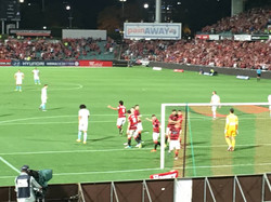 Wanderers just scored