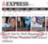 Nick Rippington Express interview