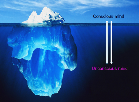 What is the relationship between the conscious and the subconscious minds?