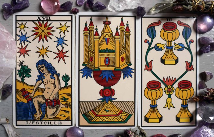 tarot cards for pregnancy with star ace cups 3