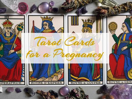 Tarot Cards Announcing a Pregnancy