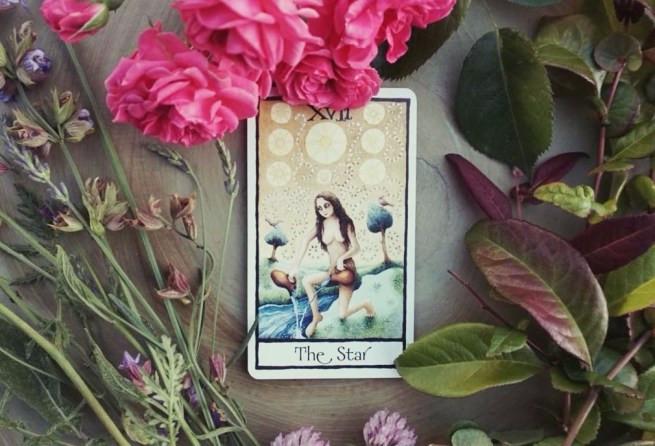 Feminine Tarot Cards the Star