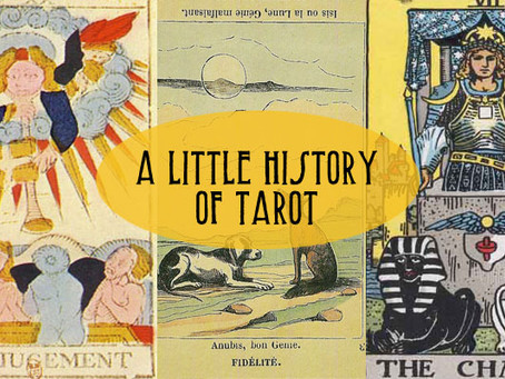 A Little History of Tarot