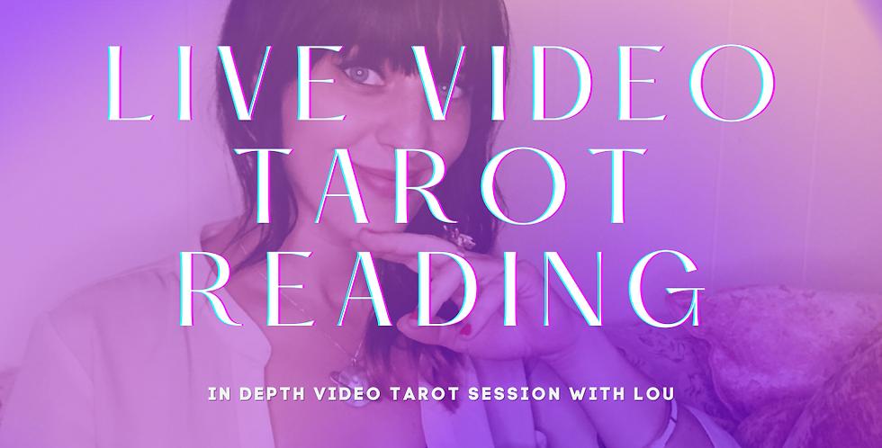 Live Video Online Tarot Reading
